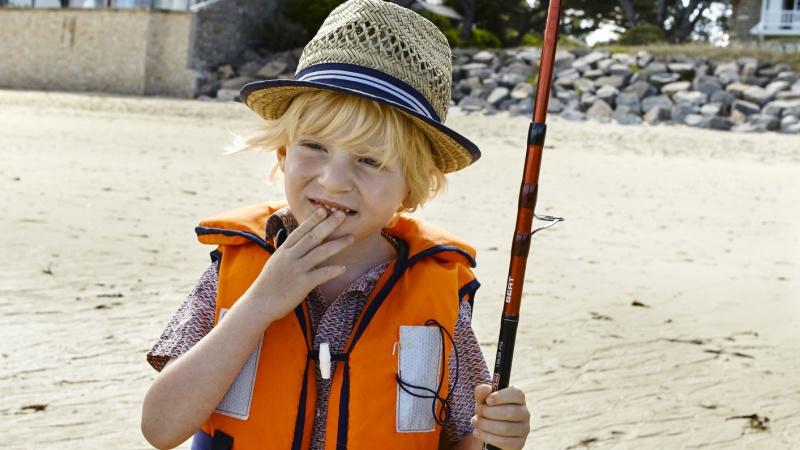 Eperlan bateau enfants