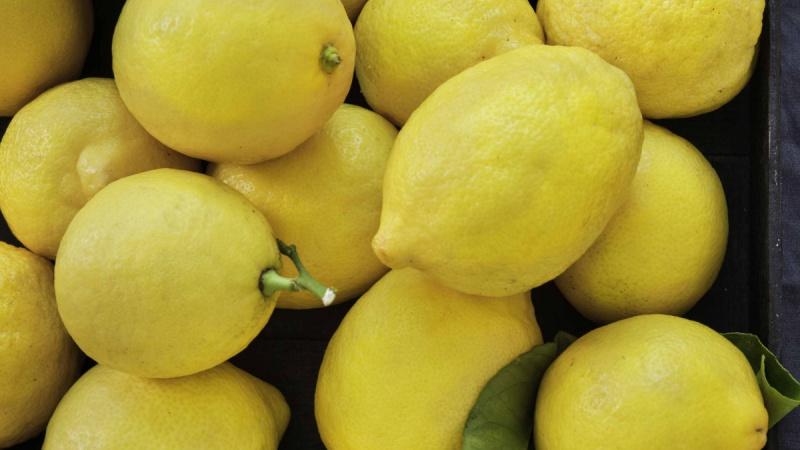 Caisse de citrons